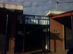 2 locales en alquiler galeria itati barrio mitre san miguel