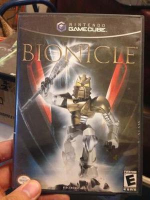 Juego nintendo gamecube bionicle original