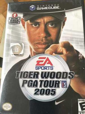 Juego para nintendo gamecube tyger woods pga tour 2005
