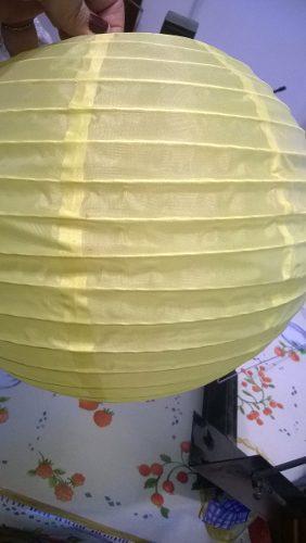Lampara papel china