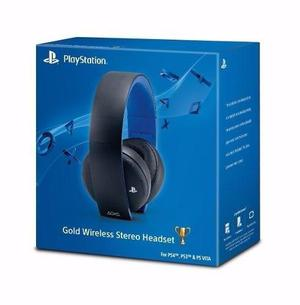 Auriculares headset gold wireless sony ps4 mac pc env gratis