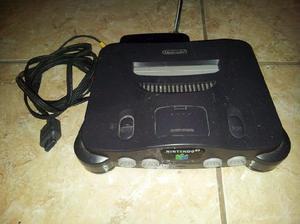 Consola nintendo 64 + joysticks + juegos