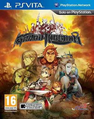 Grand Kingdom Ps Vita - Nuevos Y Sellados
