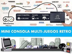 Mini retro arcade 20 mil juegos recalbox mame consola
