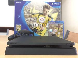 Playstation sony 4 500gb slim + fifa 17 fisico nuevas envios