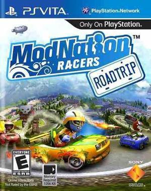 Psvita - mod nation racer: roadtrip - vendo o permuto