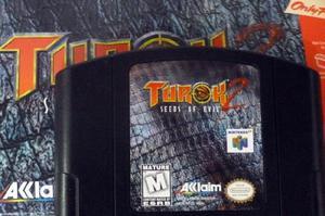 Turok 2 n64 original nintendo 64