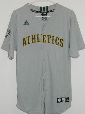 0db12f7a3bf0c Camisa baseball oakland athletics adidas bailey autografiada en ...
