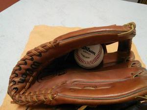 a1f030bbedc49 Guante beisbol wilson a9840 12 pulg. + pelota nva