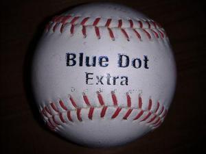 Pelota de beisbol blue dot extra cuero