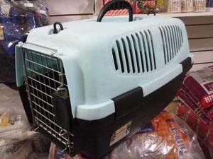 Transportadora perro gato carrier nº 1 bicolor-super precio