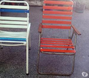 Vendo sillas de jardin-playera