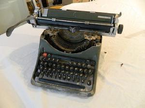 Antigua maquina escribir