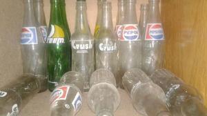 Botellas retro excelente estado.