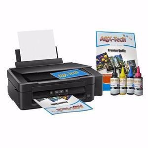 Impresora epson l220 + tintas sublimacion aqx x 400ml