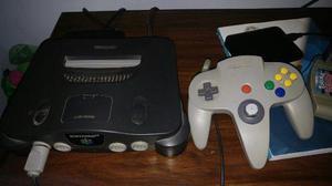 Nintendo 64 +joystick+juego