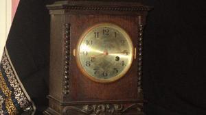 Antiguo reloj aleman gustav becker con soneria, funcionando
