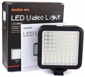 Iluminador Foto Video Godox De 64 Led Con Dimmer