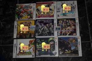 Juegos 3ds, Monster Hunter 4u, Fire Emblem Conquest Y Mas