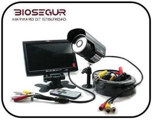 Kit pronext pro-k77c video seguridad camara monitor 7 cable