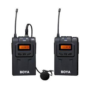 Microfono corbatero inalambrico uhf camara video dslr by wm6