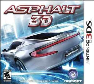 Nintendo 3ds asphalt 3d juego sellado