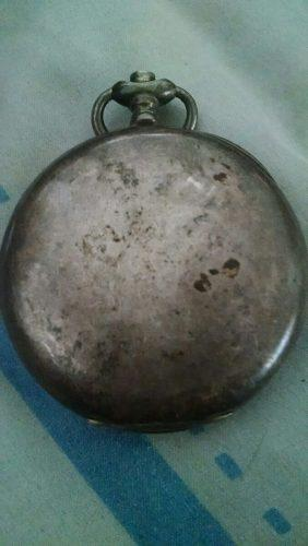 Reloj antiguo,cronómetro escasany plata 900