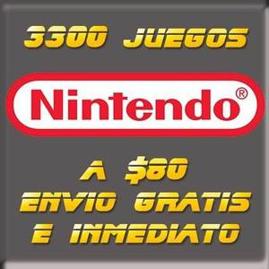 3300 juegos de nintendo - pc/android/psp envió inmediato
