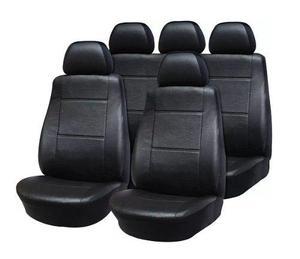 Funda cubre asiento cuerina cuero auto universal completa