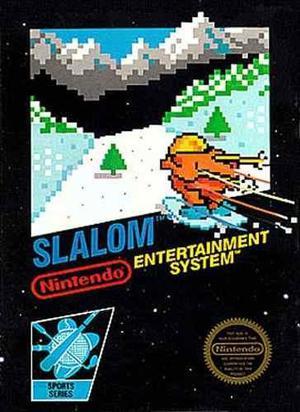 Juego slalom original consola nintendo nes palermo z norte