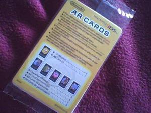 Nintendo 3ds: ar cards - caja - juego - base de carga