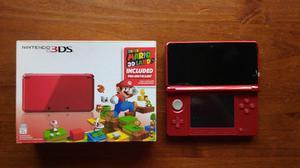 Nintendo 3ds + micro sd 4gb y funda club nintendo.