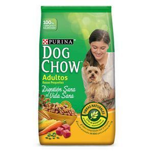 Purina dog chow adultos razas pequeñas x 21 kg