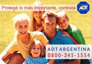 Alarmas monitoreadas adt 0800-345-1554
