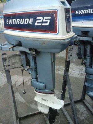 MOTORES EVINRUDE DE 25 HP/83 Y MERCURY 15 HP/07