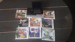 Nintendo 3ds con juegos varios en impecables condiciones!