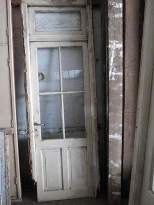 Puertas de madera con vidrio repartido para interior for Puertas de madera con vidrio para interior