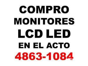 En el acto compro monitores lcd te:4863-1084