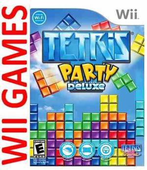 Juego Tetris Party Deluxe Original Nintendo Wii Y Wii U En Olivos
