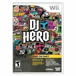 Juego wii dj hero 1 usado tenemos mas titulos