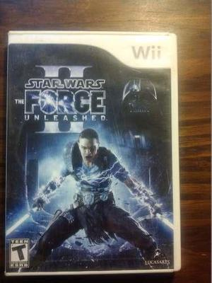 Juego wii original star wars the force unleashed il