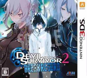 Nintendo 3ds n3ds devil survivor 2 break record shin megami