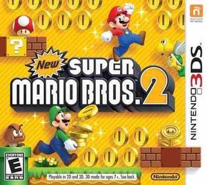 Nintendo 3ds new super mario bros 2 nuevo fisico