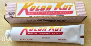 Pasta deteccion de agua en hidrocarburos kolor kut