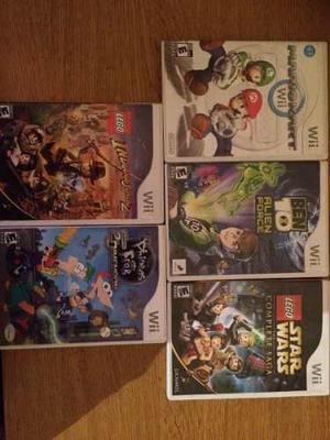 Vendo Permuto Juegos De Wii Originales Lote De 5