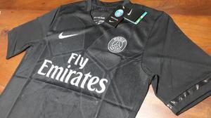 Camiseta suplente black - psg 2016 - excelente!