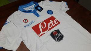 Camiseta suplente blanca - napoli - original