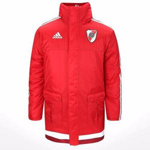 Camperón Adidas Modelo Stadium Jacket River Plate