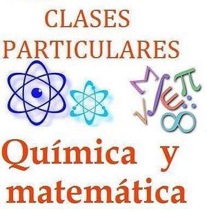 Clases particulares de química y matemáticas para