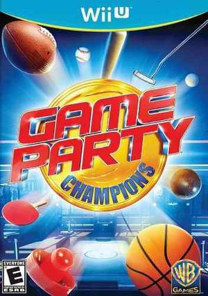 Game party champions wii u nuevo vdgmrs
